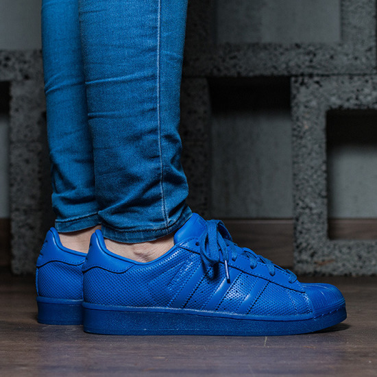 adidas Originals Superstar Adicolor Blue Sneakers S80327