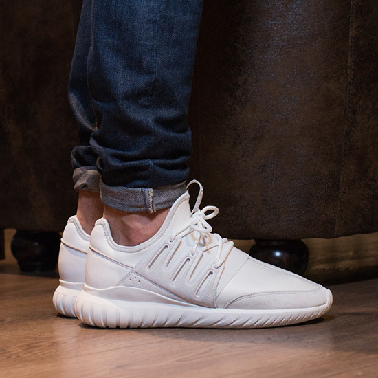 ADIDAS TUBULAR SHADOW KNIT ON FEET