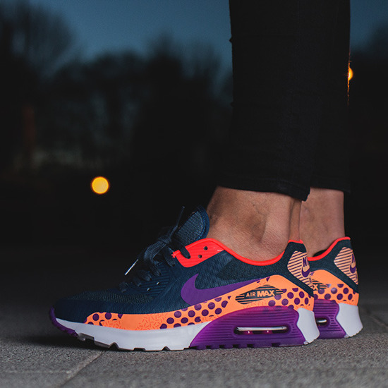 separation shoes c03ad ca74d WOMEN'S SHOES SNEAKERS Nike Air Max 90 Ultra BR Print 807352 400