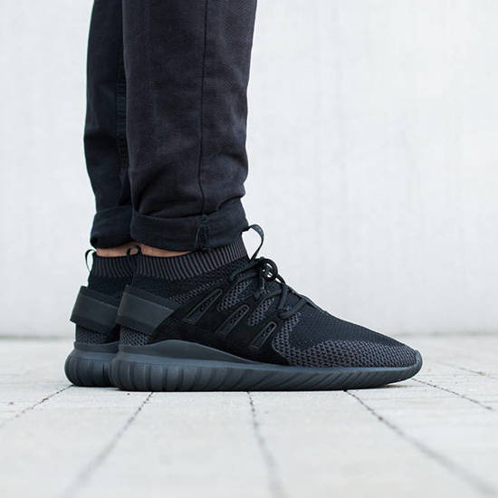 adidas Originals Men's Tubular Nova Grey Sneaker