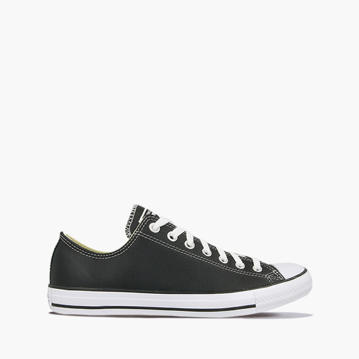 BLACK || Converse CHUCK TAYLOR ALL STAR SKÓRA 132174C