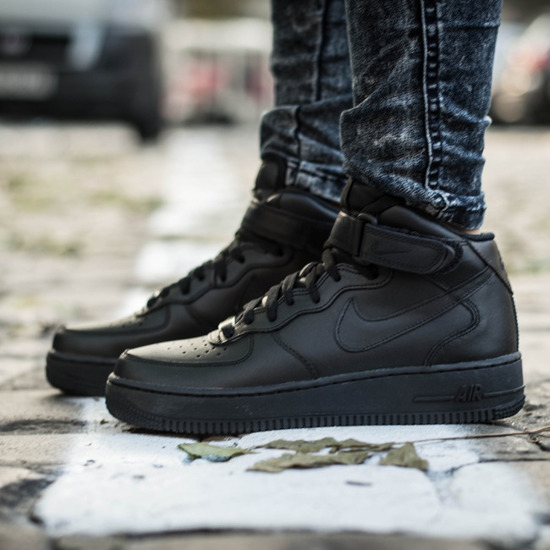 WOMEN'S SHOES SNEAKERS Nike Air Force 1 Mid '07 366731 ...