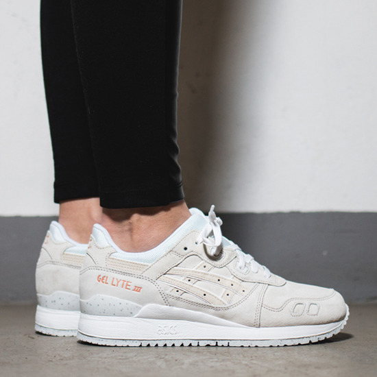asics gel lyte iii rose gold h624l-9090