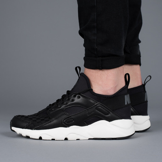 later outlet online official images 875841 008 Nike Air Huarache Run Ultra SE men's shoes ...