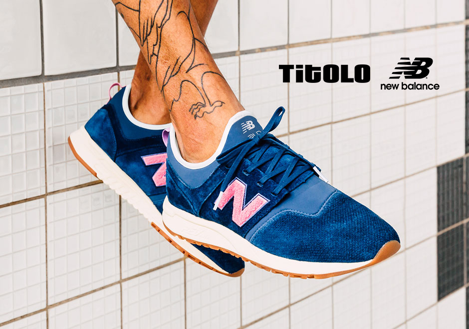 "New Balance X Titolo 247 ""Deep into the blue"""