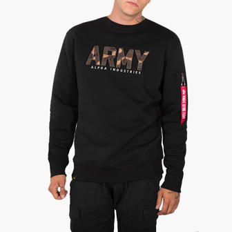 Alpha Industries Army Camo Sweater 188304 03