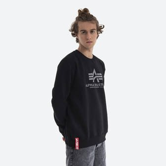 Alpha Industries Basic Sweater Reflective Print 178302RP 03
