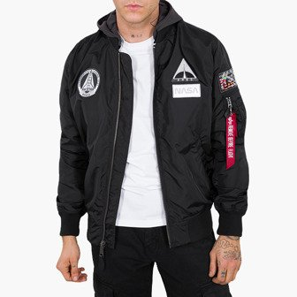 Alpha Industries Ma-1 TT Hood Nasa 126107 03