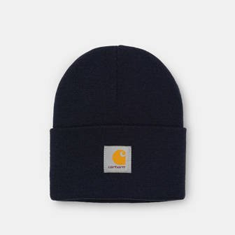 Carhartt WIP Acrylic Watch Hat I020222 DARK NAVY