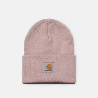 Carhartt WIP Acrylic Watch Hat I020222 FROSTED PINK