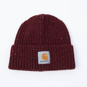 Carhartt WIP Anglistic Beanie I013193 BORDEAUX HEATHER