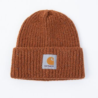 Carhartt WIP Anglistic Beanie I013193 BRANDY HEATHER