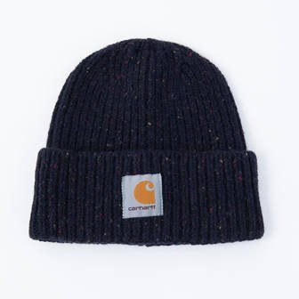 Carhartt WIP Anglistic Beanie I013193 DARK NAVY HEATHER