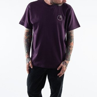 Carhartt WIP Commission Logo T-shirt I028460 BOYSENBERRY