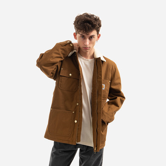 Carhartt WIP Fairmount Coat I028427 HAMILTON BROWN