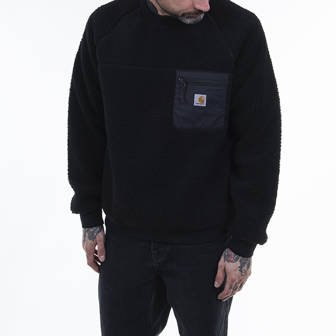 Carhartt WIP Hooded Prentis Sweatshirt I028131 BLACK