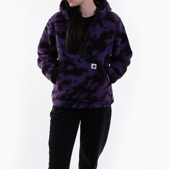 Carhartt WIP W Hooded Loon Linear I028123 CAMO BLUR PURPLE