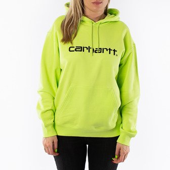 Carhartt WIP W' Hooded Sweatshirt I027476 LIME/BLACK
