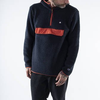 Champion Hooded Half Zip Top 215115 BS501