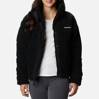 Columbia Lodhe Baffled Sherpa Fleece 1907641 010