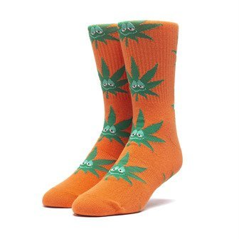 HUF Green Buddy Santa Sock SK00425 RUSSET ORANGE