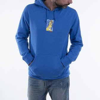 HUF Messed Up Bunny p/O Hoodie Dycbt PF00285 DYNAMIC COBALT