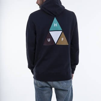 HUF Prism Trail P/O Hoodie PF00360 FRENCH NAVY