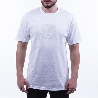 HUF Quake Box Logo T-shirt TS01053 WHITE
