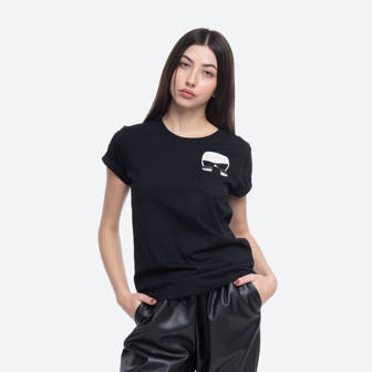 Karl Lagerfeld Ikonik Karl Pocket T-Shirt 205W1701 999
