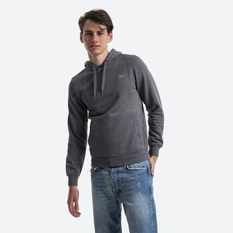 Lacoste Sport Hooded Fleece Sweatshirt SH1527 GY2