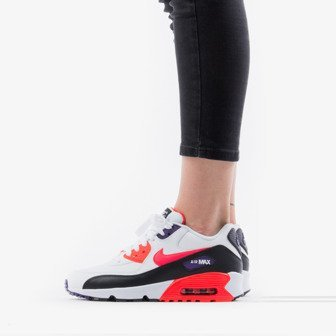 Nike Womens Air Max 90 suede trimmed leather sneakers Pink, Pink Sneakers