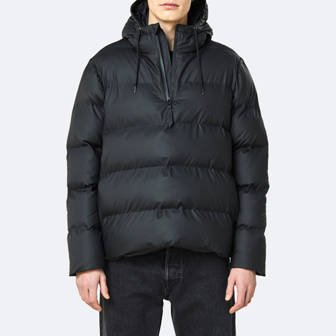Rains Puffer Anorak 1523 BLACK