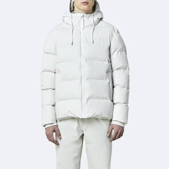 Rains Puffer Jacket 1506 OFF WHITE