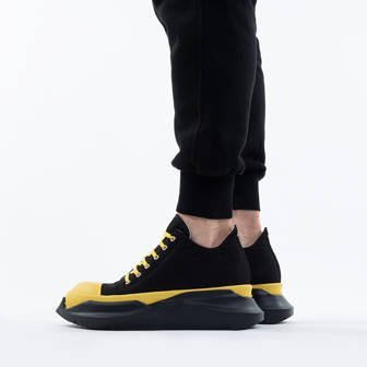 Rick Owens DRKSHDW Abstract Low Sneaks DU20F1842 TWP BLACK/YELLOW/BLACK