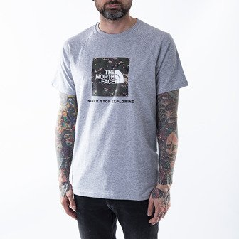 The North Face Raglan Red Box Tee NF0A3BQOPW0