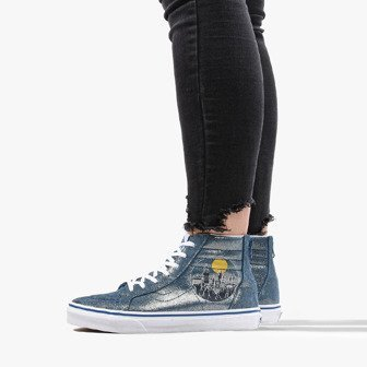 FREESTYLE HI LIGHT SOFT LEATHER SHOES High top trainers