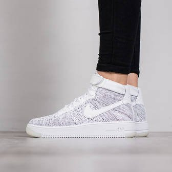 women 39 s shoes sneakers nike air force 1 flyknit 818018 802. Black Bedroom Furniture Sets. Home Design Ideas