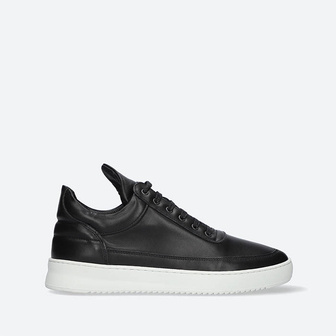 Women's shoes sneakers Filling Pieces Low Top Ripple Lane Nappa Black 25121721861PFH