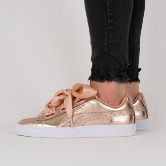 uk availability b68ca 10d62 Women s shoes sneakers Puma Basket Heart Luxe 366730 03