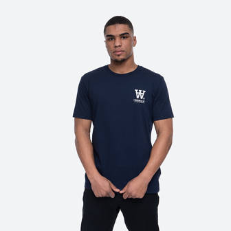 Wood Wood Ace T-shirt 10035706-2222 NAVY