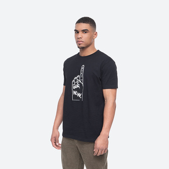 Wood Wood Foam T-shirt 12015714-2334 BLACK