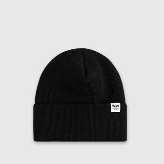 Wood Wood Gerald Tall Beanie 12030812-9522 BLACK