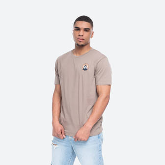 Wood Wood Patch T-shirt 11935716-2334 Taupe<