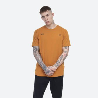 Wood Wood Voyages T-shirt 12035716-2334 ORANGE