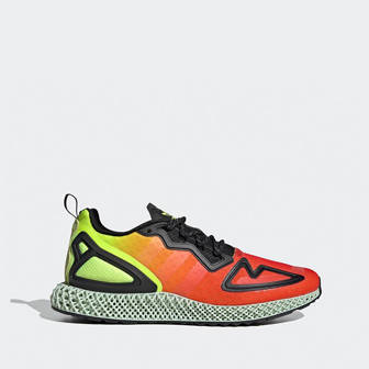adidas Originals ZX 2K 4D ''Solar Yellow Red'' FV9028