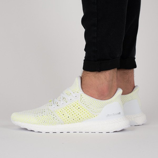 f13b56630fb authentic adidas ultra boost mens white 03c54 af857  france mens shoes  sneakers adidas ultraboost clima solar yellow ccdd8 415ae