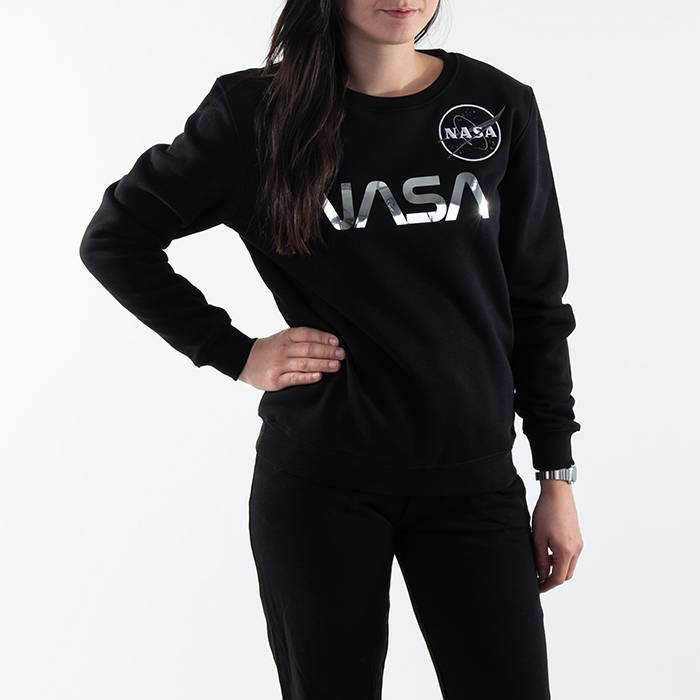 Alpha Industries Women Sweatshirt NASA PM