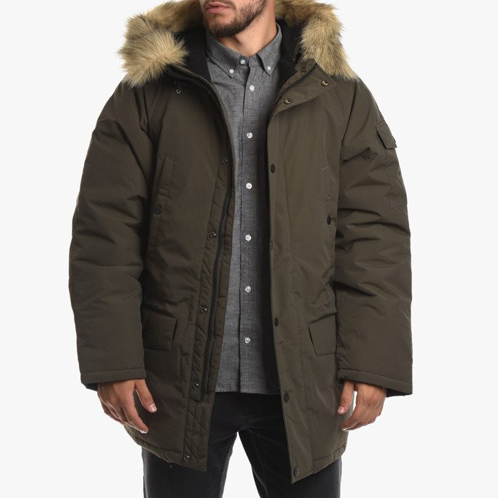 official images first rate wholesale online Carhartt WIP Anchorage Parka I027126 CYPRESS/BLACK - Best ...