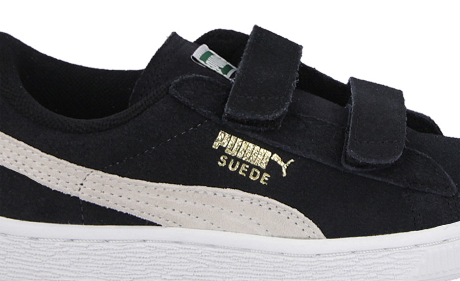 Details about Puma Suede Classic Sneakers Toddler Boy Size 5C US Green White Velro Straps