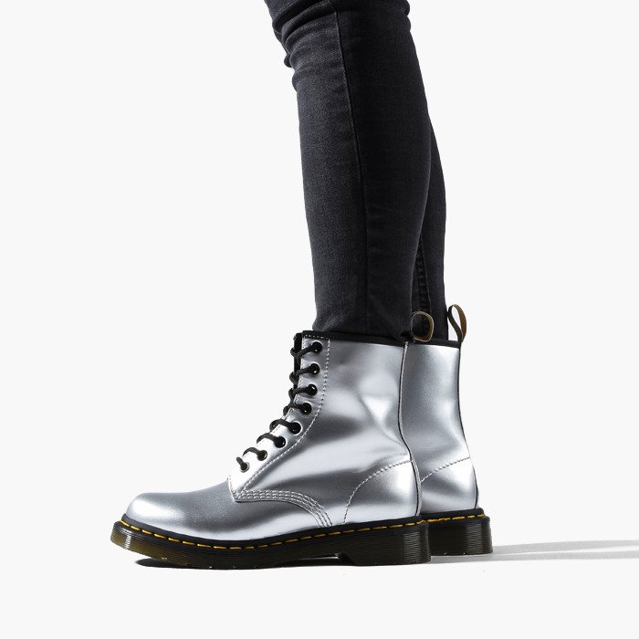 wholesale price 100% top quality many styles Dr Martens 1460 Vegan Silver 24865040 - Best shoes SneakerStudio